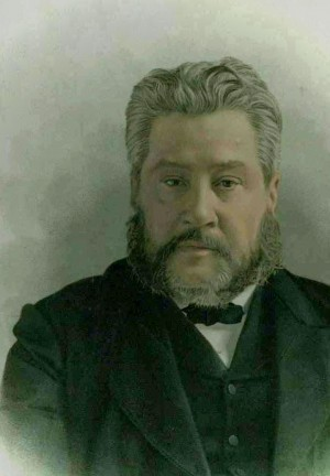 painting of Charles Haddon Spurgeon
