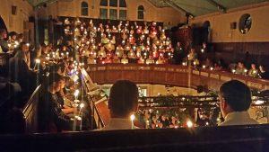 SBC Christmas candlelight service 2015