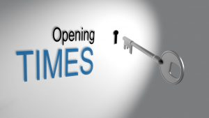 Opening Times - Things that are opened