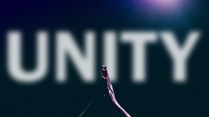 praying hands for unity